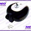 Hi Quality For RE Customized Heavy Duty Petrol Tank Black And White New