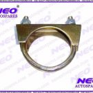 Clamping Clips with Nuts Bolt Zinc Plated Universal - New Exhaust U Hose Clamps