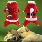 Christmas Gift New Year Pet Cat Winter Clothes Puppy Warm Coat
