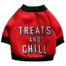 Pet Dog Puppy Funny Letters Fleece Shirt Apparel Warm Sweater