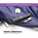 Mini Wireless Rechargeable Hair Straightener Iron suitable for Traveller