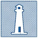Embossed Lighthouse Design