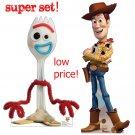 WOODY - FORKY Cardboard Cutout Set - Lifesize - Lowest Price - Toy Story 4