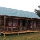 Handmade Amish Cabin - No Power Tools Used