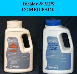 FreshWater MPS Shock & Dichlor Chlorine Granules Combo Pack