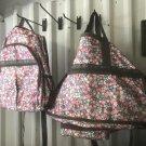 Floral Duffle bag & Back Pack