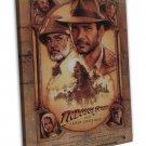 Indiana Jones And The Last Crusade Wall Decor 16x12 FRAMED CANVAS Print