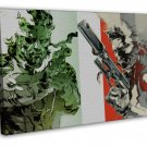 Metal Gear Solid 4 Game Wall Decor 16x12 FRAMED CANVAS Print