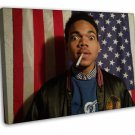 Chance The Rapper Music Star Art 16x12 FRAMED CANVAS Print Decor