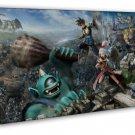 Kingdom Hearts 3 Game Art Attack On Titan 16x12 FRAMED CANVAS Print