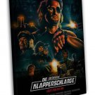 Escape From New York Movie 16x12 Framed Canvas Print