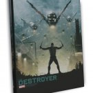 Guardians Of The Galaxy Movie Art The Destroyer 16x12 Framed Canvas Print