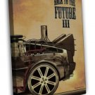 Back To The Future Part 3 Classic Movie Pictures 16x12 FRAMED CANVAS Print