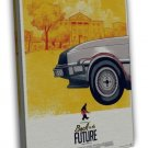 Back To The Future Part 1 Classic Movie Pictures 16x12 FRAMED CANVAS Print