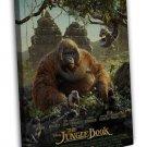 The Jungle Book 2 Cartoon Movie Monkey King Louie 16x12 FRAMED CANVAS Print