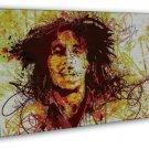 Bob Marley Reggae Music Star Art 16x12 Framed Canvas Print