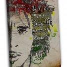 Bob Marley Jamaican Singer Music Star 16x12 FRAMED CANVAS Print