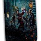 Avengers Age Of Ultron Movie Art 16x12 Framed Canvas Print