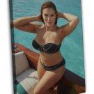 Ashley Graham Instagram Hot Girl Model 16x12 FRAMED CANVAS Print