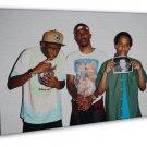 Earl Sweatshirt Frank Ocean Rap Music Large 16x12 FRAMED CANVAS Print