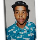 Earl Sweatshirt Art Rap Music Large 16x12 Framed Canvas Print