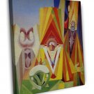 Max Ernst Feast Of The God Fine Art 16x12 Framed Canvas Print
