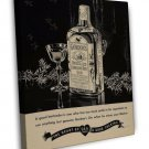 Vintage Gordons Gin Advertisement Photo 16x12 Framed Canvas Print