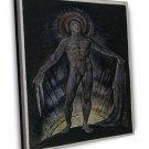 William Blake S Fine Art 16x12 Framed Canvas Print