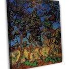 Van Gogh Trees In The Garden Of SAINT PAUL Hospital 16x12 Framed Canvas Print