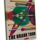 The Grand Tour Visions Of The Future Space Image 16x12 Framed Canvas Print