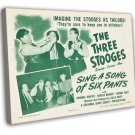 Sing A Song Of Six Pants Lot 1947 Vintage Movie FRAMED CANVAS Print
