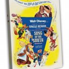 Song Of The South 1956 Vintage Movie FRAMED CANVAS Print 2