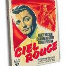 Blood On The Moon 1948 Vintage Movie FRAMED CANVAS Print 2