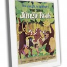 The Jungle Book 1967 Vintage Movie Framed Canvas Print