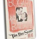 The Big Sleep 1946 Vintage Movie Framed Canvas Print 36