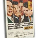 Ocean S 11 1960 Vintage Movie Framed Canvas Print 11