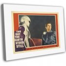 The Day The Earth Stood Still 1951 Vintage Movie FRAMED CANVAS Print 59