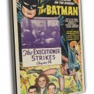 The Batman 1943 Vintage Movie Framed Canvas Print 8