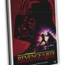 Revenge Of The Jedi 1982 Vintage Movie FRAMED CANVAS Print 11