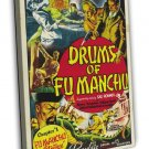 Drums Of Fu Manchu 1940 Vintage Movie Framed Canvas Print