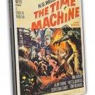 The Time Machine 1960 Vintage Movie Framed Canvas Print 2