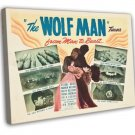 The Wolf Man 1948 Vintage Movie Framed Canvas Print 43