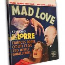 Mad Love 1935 Vintage Movie Framed Canvas Print 7