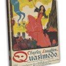 The Hunchback Of Notre Dame 1939 Vintage Movie FRAMED CANVAS Print 9