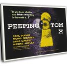 Peeping Tom 1960 Vintage Movie Framed Canvas Print 3