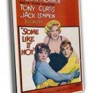 Some Like It Hot 1959 Vintage Movie Framed Canvas Print 14