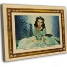 Gone With The Wind 1939 Vintage Movie FRAMED CANVAS Print 29
