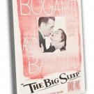 The Big Sleep 1946 Vintage Movie Framed Canvas Print 20