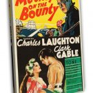 Mutiny On The Bounty 1935 Vintage Movie FRAMED CANVAS Print 4