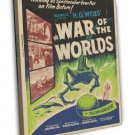 The War Of The Worlds 1953 Vintage Movie FRAMED CANVAS Print 13